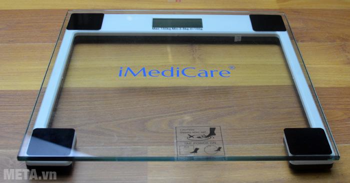 Cân điện tử iMediCare IB 303/310 có tải trọng người dùng cao lên tới 150kg.