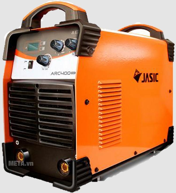 Máy hàn que Jasic ARC-400 (Z312) có tia hồ quang mạnh, chạy êm và ổn định