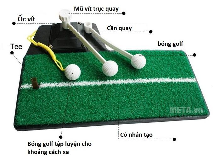 Cấu tạo của thảm tập Golf Swing Mat