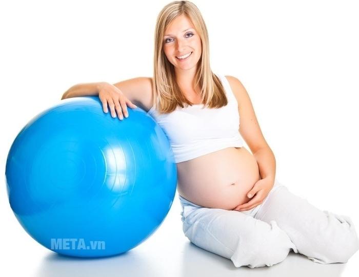 Bóng tập Yoga cao cấp trơn tốt cho bà bầu.