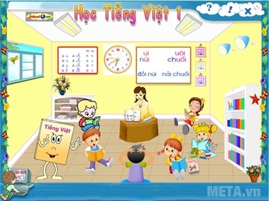 Học Tiếng Việt 1 - Phần 1 cho học sinh Tiểu học
