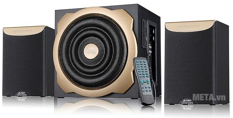 Loa Fenda A520U có tổng công suất 52W giúp nghe nhạc ở không gian rộng lớn hơn.
