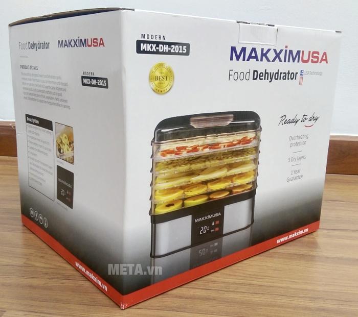 Hộp đựng máy sấy khô hoa quả, thực phẩm Makxim MKX-DH-2015