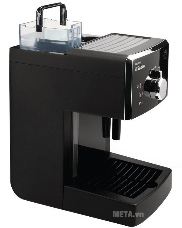 Máy pha cà phê Saeco Poemia Focus HD8423 dễ dàng tháo rời bình nước.