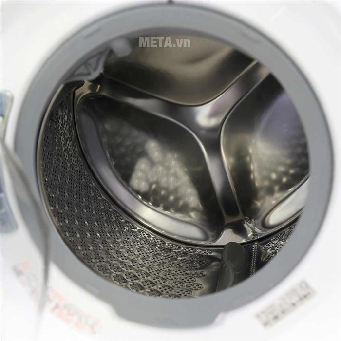 Máy giặt cửa trước Electrolux EWF12933 có lồng giặt ngang.