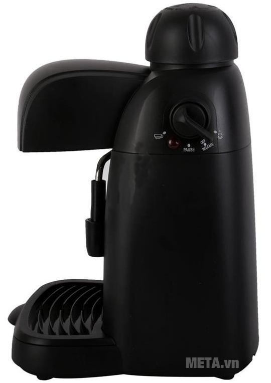Máy pha cà phê Espresso Tiross TS620 sử dụng đơn giản, dễ dàng.