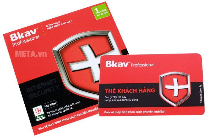 Bkav Pro Internet Security 1 năm/01 máy sẽ bảo vệ máy tính theo cách chuyên nghiệp!
