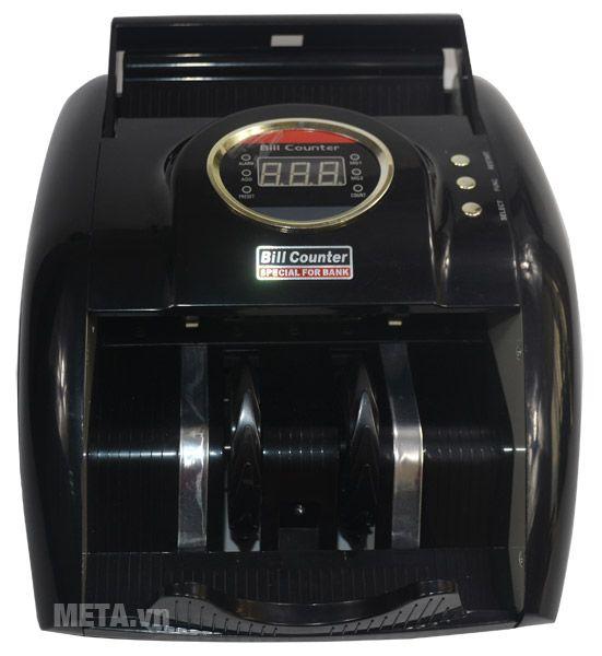 Máy đếm tiền Silicon MC-B52 có màu đen sang trọng