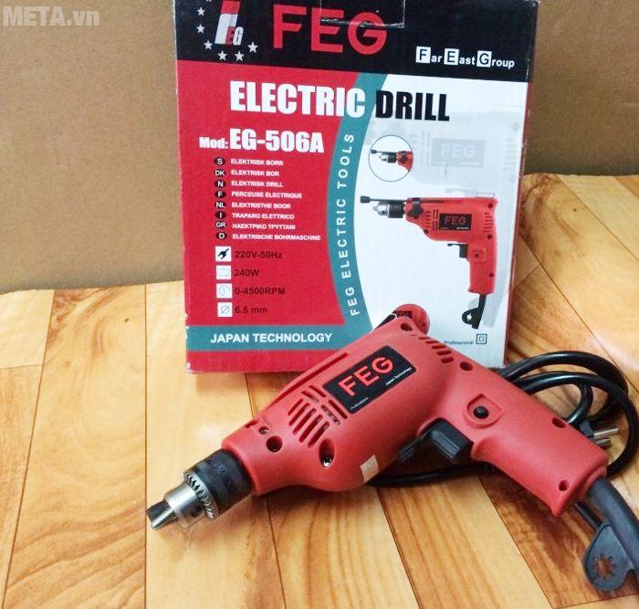 Hộp đựng máy khoan đầu cặp FEG EG-506A