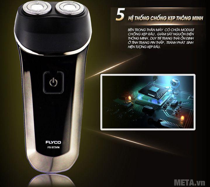 Máy cạo râu Flyco FS-873VN có hệ thống chống kẹp thông minh