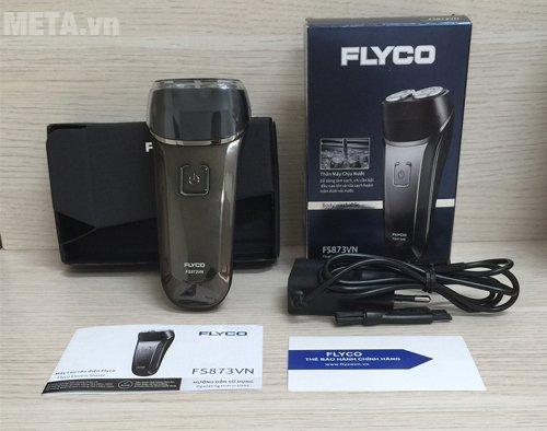 Bộ sản phẩm máy cạo râu Flyco FS-873VN