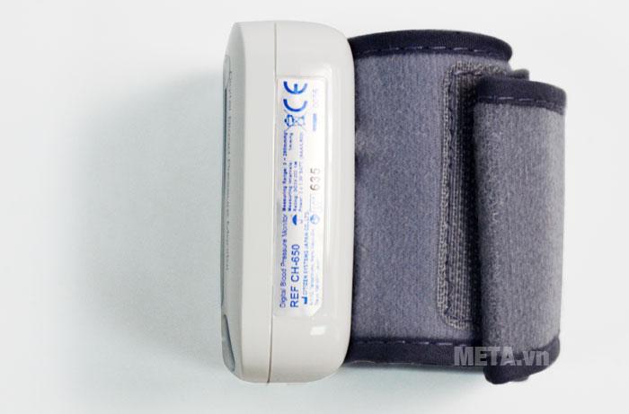 Máy đo huyết áp điện tử tự động CH-650 có vòng bít mềm