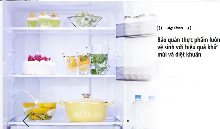 Tủ lạnh Econavi NR-BX468XSVN được đầu tư công nghệ khử khuẩn hiệu quả