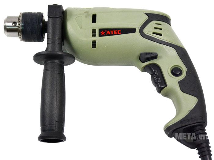 Máy khoan Atec AT7218 trang bị tay cầm phụ