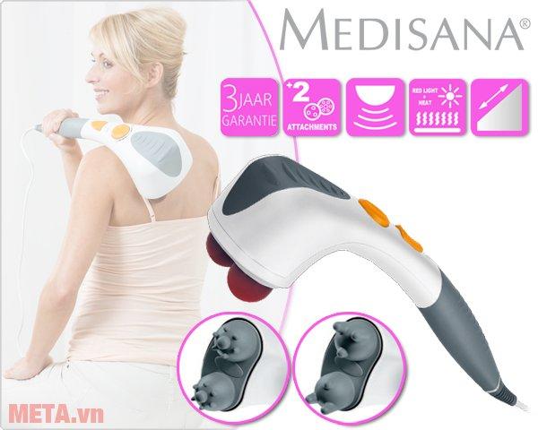 Máy massage đấm đèn hồng ngoại ITM hàng chính hãng đến từ Đức