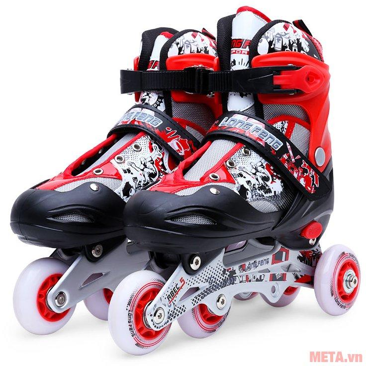Khung giầy trượt patin Long Feng 906 New làm bằng hợp kim nhôm cứng