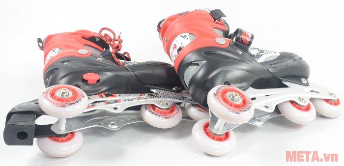 Giầy trượt patin Long Feng 906 New có bánh bằng cao su