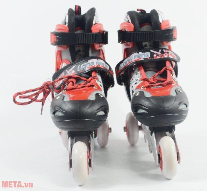 Giầy trượt patin Long Feng 906 New thiết kế bánh chống mài mòn va đập tốt