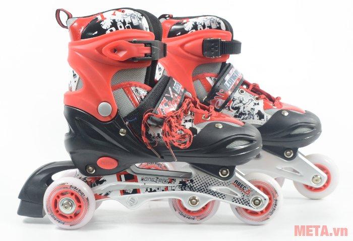 Giầy trượt patin Long Feng 906 New thiết kế bề mặt rất thoáng khí