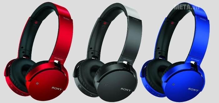 Tai nghe Bluetooth Sony XB650BT trẻ trung với đa sắc màu