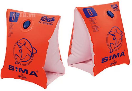 Phao tay trẻ em Sima (Cam) nhẹ bền, an toàn tuyệt đối cho bé tận hưởng bơi lội