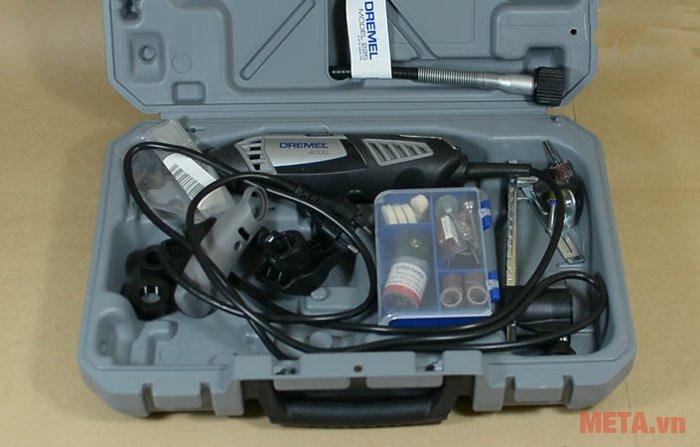 Hộp nhựa bên trong của bộ dụng cụ đa năng Dremel 4000 4/65