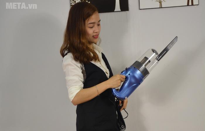 Máy hút bụi cầm tay Shimono SVC1016-C lọc sạch vi khuẩn có hại