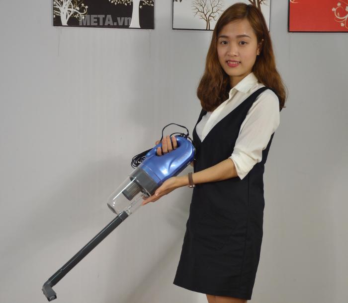 Máy hút bụi cầm tay Shimono SVC1016-C tiện ích cho các chị em