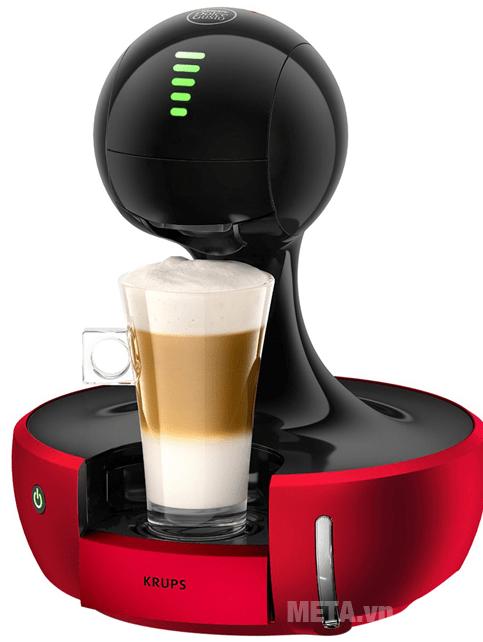 Espresso, Cappucino, Green tea latte, Chococino được làm ra chưa đến 1 phút