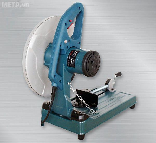 Máy cắt sắt KCT MOD.K1 có in thông số trên động cơ của máy