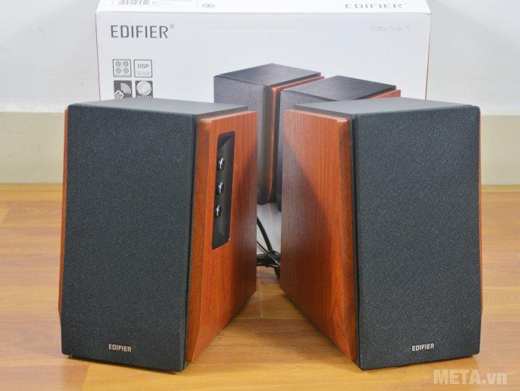 Loa Edifier R1700BT có kiểu dáng nhỏ gọn, công suất 66W cho âm thanh phát ra rõ ràng
