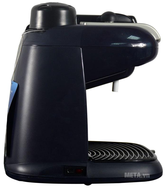 Máy pha cà phê Delonghi Steam Espresso EC9 có vỏ máy bằng nhựa cao cấp