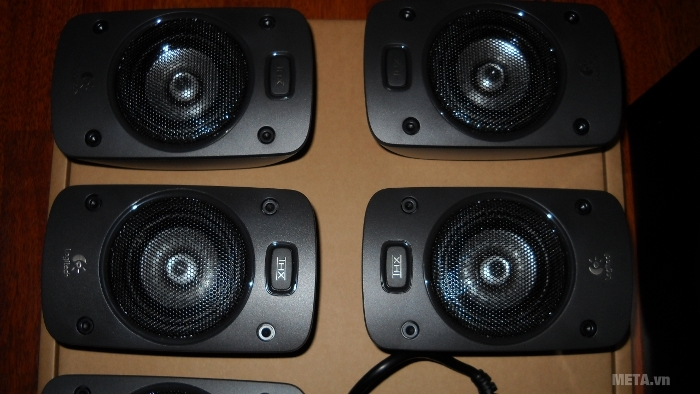 Loa vệ tinh Logitech Surround Sound Speakers Z906