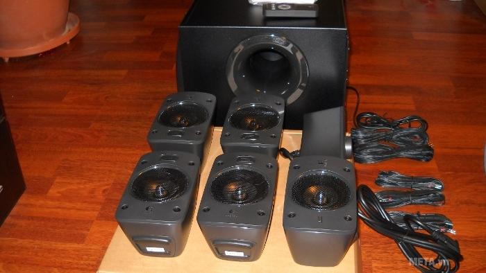 Bộ 6 loa Logitech Surround Sound Speakers Z906