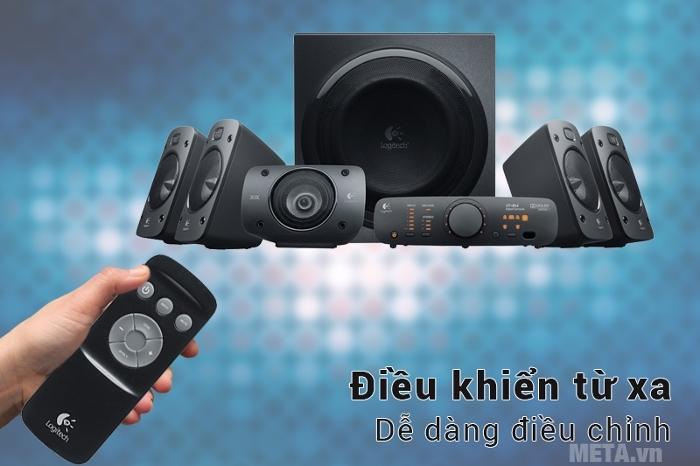 Hệ thống điều khiển từ xa cùng các nút chức năng cơ bản