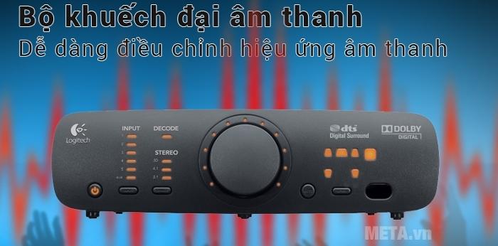 Bộ 6 loa Logitech Surround Sound Speakers Z906 đáp ứng mọi thể loại âm nhạc