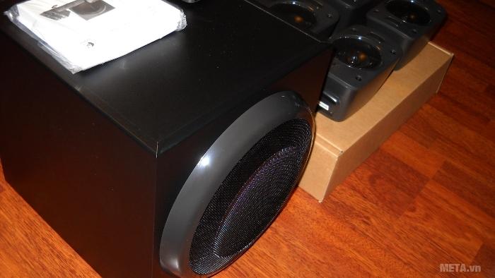 Bộ 6 loa Logitech Z906 kết nối đa dạng thiết bị nghe nhìn hiện nay