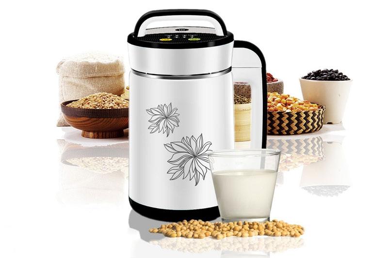 Máy làm sữa đậu nành Mishio MK-140 rất dễ dàng sử dụng và làm sạch.