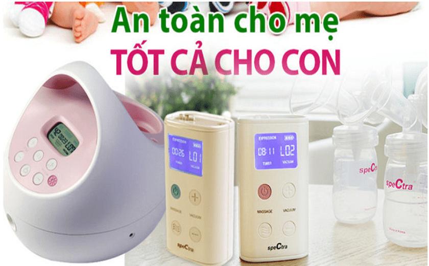 so sánh nên mua máy hút sữa spectra hay unimom?