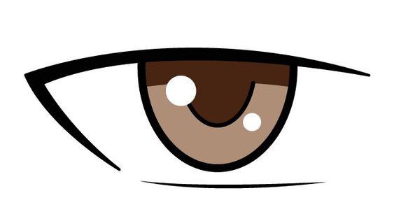 cách vẽ mắt anime nữ, nam đẹp, đơn giản